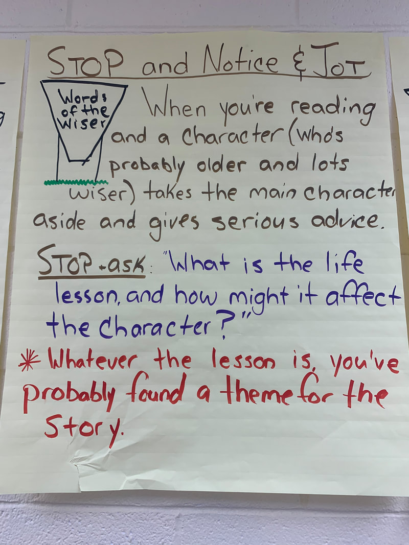 Reading & Writing - MR. BUEHLER'S 5TH GRADE